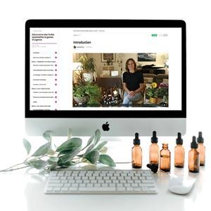 Cours en vidéo, e-learning sur les huiles essentielles par Aude Maillard