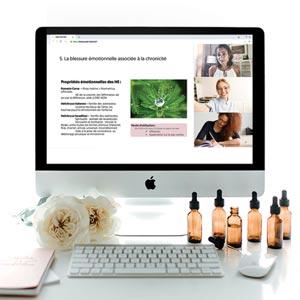 Webinars sur l'aromathérapie et les huiles essentielles par Aude Maillard
